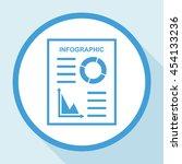 infographic vector icon. | Shutterstock .eps vector #454133236