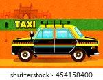 easy to edit vector... | Shutterstock .eps vector #454158400