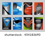 set of business flyer template  ...