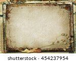 grunge gorgeous background with ... | Shutterstock . vector #454237954