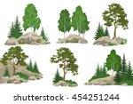 Set Landscapes  Coniferous And...