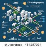 3d City Isometric Three...