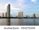 Bangkok pier riverside thailand ...