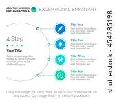semicircle chart template | Shutterstock .eps vector #454285198