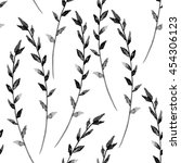 floral seamless pattern ... | Shutterstock . vector #454306123