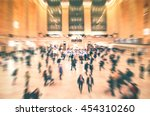 grand central   new york city... | Shutterstock . vector #454310260