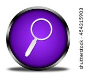 search button isolated. 3d... | Shutterstock . vector #454315903