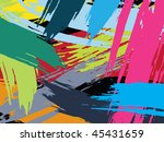 beautiful abstract background... | Shutterstock .eps vector #45431659