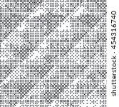 grunge halftone dots vector... | Shutterstock .eps vector #454316740