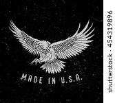Eagle With Slogan Made In Usa....