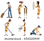 vector illustration of a... | Shutterstock .eps vector #454320949