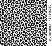 vector illustration leopard... | Shutterstock .eps vector #454346350