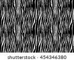 vector illustration zebra print ...