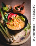Thai Spicy And Sour Soup With...