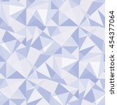 ice mosaic of triangles | Shutterstock .eps vector #454377064