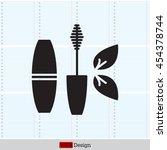 mascara brush icon | Shutterstock .eps vector #454378744