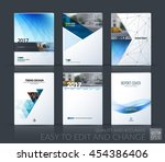 brochure template layout  cover ... | Shutterstock .eps vector #454386406