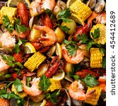 Clambake Seafood Boil With Cor...