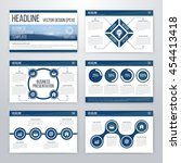 infographics presentation...   Shutterstock .eps vector #454413418