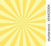 abstract radial sun burst... | Shutterstock .eps vector #454425304