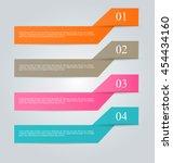 business infographics template...   Shutterstock .eps vector #454434160
