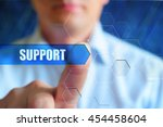 support wallpaper  technical... | Shutterstock . vector #454458604