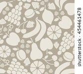 vector seamless pattern with... | Shutterstock .eps vector #454461478