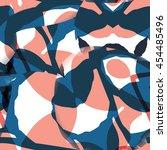 digitally created seamless... | Shutterstock .eps vector #454485496