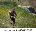 Small photo of July 16, 2016 - Beaver Creek, Colorado, USA: Tess Amer of the University of Colorado runs to a win in the women's 25-29 age group at the XTERRA Beaver Creek Mountain Championship.