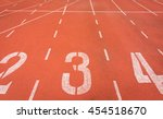 Start Running Track In Stadium...