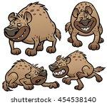 vector illustration of cartoon... | Shutterstock .eps vector #454538140
