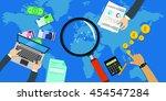 stocks economy market indicator | Shutterstock .eps vector #454547284