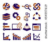data analysis  information ...   Shutterstock .eps vector #454557619