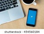 chiangmai thailand   july 17 ...   Shutterstock . vector #454560184