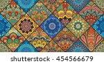 Boho Tile Seamless Pattern...