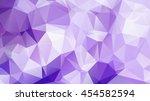 geometric pattern  triangles... | Shutterstock .eps vector #454582594
