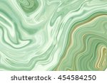 Marble Ink Colorful. Green...
