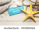 beach coast nature paradise... | Shutterstock . vector #454584466