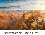 picturesque of the landscape of ... | Shutterstock . vector #454611940