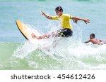 phuket   july 17  unidentified... | Shutterstock . vector #454612426