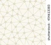 seamless pattern of hollow... | Shutterstock .eps vector #454613383