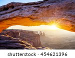 Famous Mesa Arch At Sunrise ...