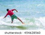 phuket   july 17  unidentified... | Shutterstock . vector #454628560
