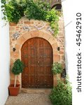 Old Door In Lindos  Island...