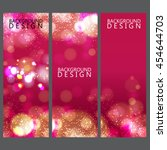 colorful banner and background... | Shutterstock .eps vector #454644703