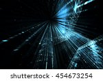 digital technology abstract... | Shutterstock . vector #454673254
