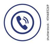 phone  icon. flat design.   Shutterstock .eps vector #454685269