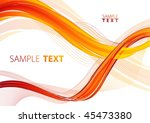 fiery abstract background....   Shutterstock .eps vector #45473380