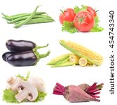 fresh vegetable | Shutterstock . vector #454743340