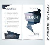 vector design template of... | Shutterstock .eps vector #454756150
